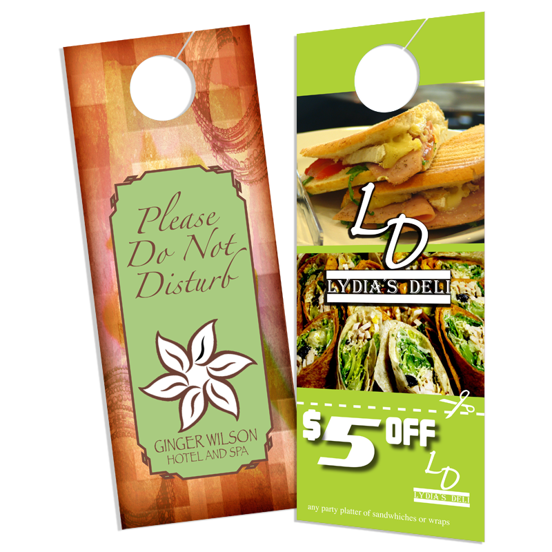 Image of 2 Different Door Hangers